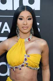 Cardi B posted her first pregnancy bump ...