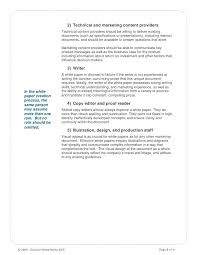 White Papers Sample Write White Paper Outline Format Examples Sample Template