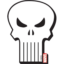Marvel Punisher Logo Magnet - ND-95250 by Medieval Collectibles