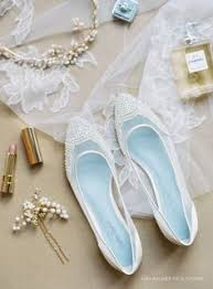 beautiful wedding flats with mesh and flower embroidery beads Modern Wedding Flats hailey 'enchanted' bridal collection romantic hand beaded and embroidered flats pearl beaded scalloped pattern on toe soft and comfortable modern glass modern wedding shoes