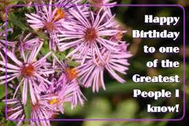 Happy Birthday Purple Flowers Free Happy Birthday Ecards 123