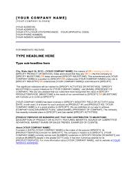 Business Press Release Template Press Release Company Has Reached A Milestone Template
