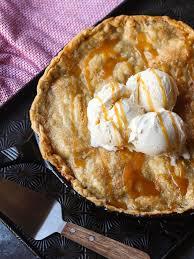 I've tried quite a few apple pie recipes. Easy Skillet Apple Pie Recipe With Homemade Caramel Sauce