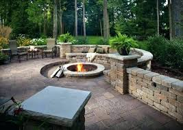 outdoor fire pit seating ideas and 2 with regard to area plan diy pretty pl