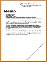 Business Memo Format 6 Examples Of Business Memos Free Invoice Letter