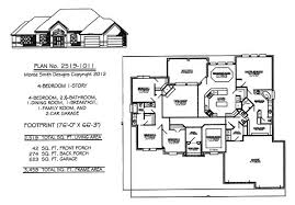 1 story house plans. 4 Bedroom 1 Story House Plans Appalling Remodelling At O