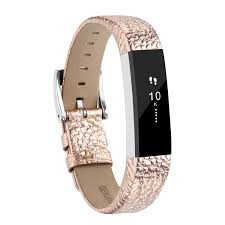 fitbit alta bands and alta hr bands leather replacement wrist bands for fitbit alta hr and fitbit alta rose gold