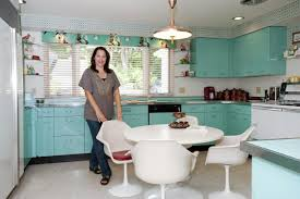 Old Metal Kitchen Cabinets Retro Style Kitchen Cabinets Buslineus