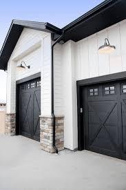 black modern farmhouse doors