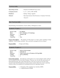 Amazing Operating Systems Resume Ideas - Simple resume Office .