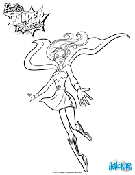 Un Coloriage De Barbie Super Princesse Inedit Colorie La Tenue De
