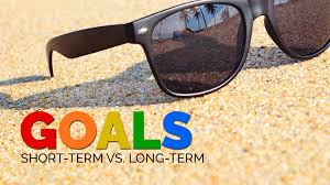 goals short term vs long term 05 aug goals short term vs long term