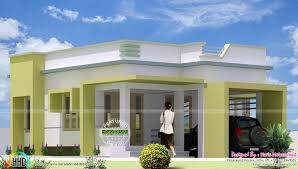 Small Picture Box type single floor home plan Kerala home design and floor plans