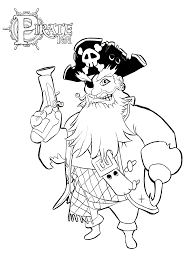 Today we have a printable pirate hat for you to use. Pirate Coloring Pages Pirate101 Free Online Game