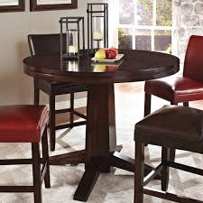 steve silver hartford pedestal counter table