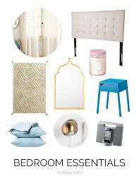 Bedroom Essentials List Home Design