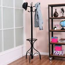 Vintage Metal Coat Rack 100Hooks Vintage Metal Coat Hat Tree Stand Holder Clothes Umbrella 65