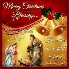 Religious Christmas Quotes Amazing Merry Christmas Blessings Religious Quote Pictures Photos And