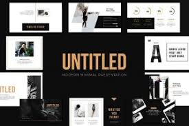 bold powerpoint templates 45 minimal powerpoint templates for aesthetic presentations