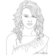 Small Picture Taylor Swift coloring page TAYLOR SWIFT coloring pages Polyvore