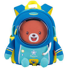 <b>3D школьный рюкзак</b> с космическим медведем для От 2 до 6 лет ...