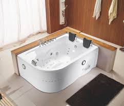surprising bathtub for two am white acrylic corner whirlpool