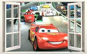 disney cars wall decals cars wall decals with cars racing wall stickers kids art decal mural disney cars wall decals
