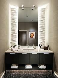Image Lighted Vanity Decoparty Indirect Light Behind Mirror Bathroom Mirrors With Lights My