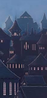 1440x2960 Hogwarts Harry Potter School ...