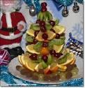 Ёлочка из фруктов своими руками фото