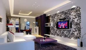 Purple Living Room Designs White And Purple Living Room Homedesignwiki Your Own Home Online