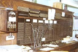 telephone history antique telephone collector s items test desk on the left of the switchboard