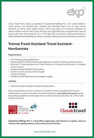 careers classic travel careers
