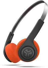 JLab Audio Rewind <b>Wireless Retro Headphones</b>   <b>Bluetooth</b> 4.2   12 ...