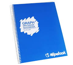 Wipebook Chart Paper Wipebook Reusable Dry Erase Graph