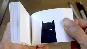Flip Book With Photos Batman Flipbook And How I Made It Youtube