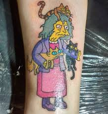 The Simpsons Tattoo At Majotattooer