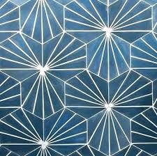 navy blue hex glass navy blue hex tile