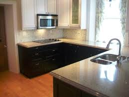 Two Tone Kitchen Cabinet Two Tone Kitchen Cabinets Lovely Dark Blue Lower Cabinets With