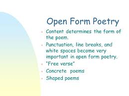 poems form poetic forms ppt video online download
