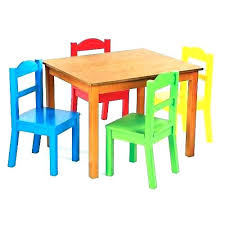 kids table with 4 chairs kids table and 4 chairs table chair set for interior design