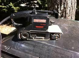 craftsman 3x21 belt sander. belt sander - craftsman 3x21 inch x002430 (snellville)