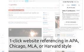 cite this for me web citer chrome web store