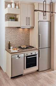 Small Picture Efficient Micro Kitchens for Small Spaces