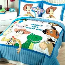 toy story bedding set twin quilt sheets sham valance new 6 pieces full size bed queen
