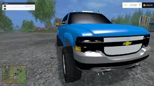 2001 CHEVY SILVERADO MOD - Farming Simulator 2015 / 15 mod