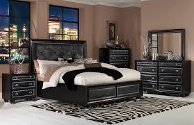 Leather Bedroom Furniture Sets Onyx Island 6 Pc Cal King Bedroom Set Faux Leather Bedroom