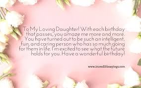 20 Best Happy Birthday Wishes For Daughter Cards Birthday Wishes