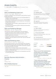 Professional Strengths Resume 8 Sales And Marketing Resume Samples And Writing Guide