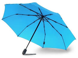 Купить <b>Зонт</b> автомат <b>Knirps E</b>.<b>200</b> Medium Duomatic голубой по ...